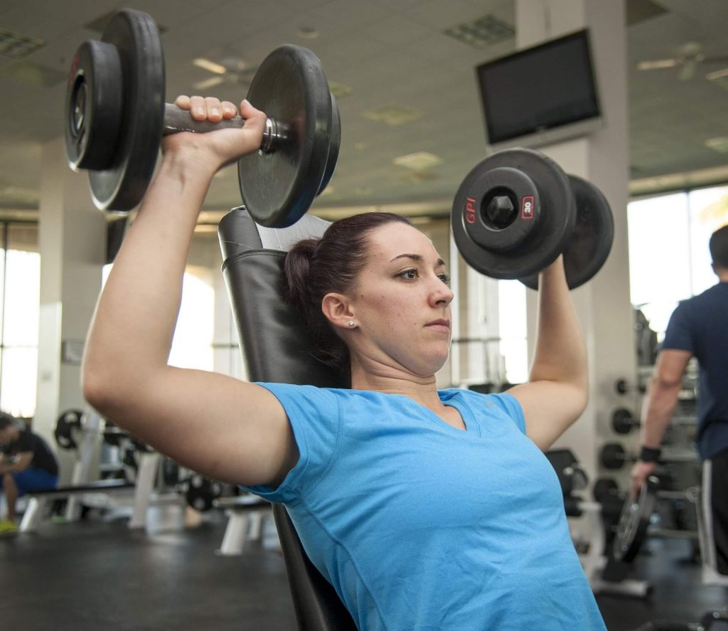 lean muscle workout for female